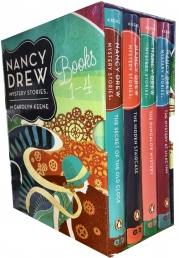 Nancy Drew Mystery Stories Books 1-4 Collection 4 Books Box Set by Carolyn Keene Photo