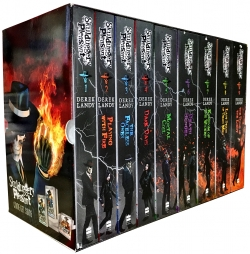Skulduggery Pleasant 9 Books Set Collection (Series 1 to 3) Photo