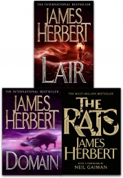 James Herbert  The Rats Trilogy Collection 3 Books Set Photo