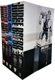 Judge Dredd Complete Case Files Volume 6-10 Collection 5 Books Set - Series 2 - By John Wagner Photo