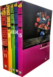 Judge Dredd: Complete Case Files Volume 11-15 Collection 5 Books Set (Series 3) By John Wagner Photo