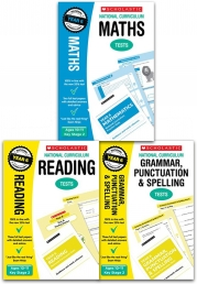 National Curriculum SATs Tests: Years 6 Ages 10-11 Key Stage 2 Pack of 3 (Maths, Grammar Punctuation & Spelling, Reading) Photo