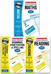 National Curriculum SATs Tests: Years 2 Age 6-7 Key Stage 1 Pack of 3 (Maths, Grammar Punctuation & Spelling, Reading) Photo