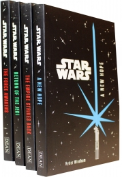 Star Wars Junior Novel Collection 4 Books Set by Ryder Windham A New Hope, The Empire Strikes Back,  Return of The Jedi,  The Force Awakens by Ryder Windham, Lucasfilm