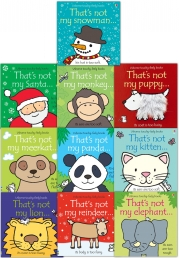Thats Not My Toddlers 10 Books Collection Set Pack Fiona Watt (Touchy-Feely Board Books) Photo