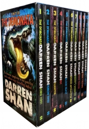 Darren Shan Demonata Collection 10 Books Box Set Pack ( Demon Thief, Lord Loss, Slawter and more) by Darren Shan
