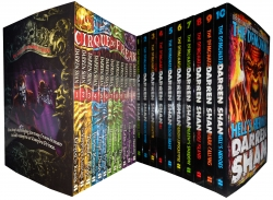 Saga Of Darren Shan Series Collection 22 Books Set (Demonata, Cirque du Freak) Photo