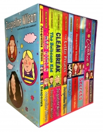 Jacqueline Wilson 10 Books Collection Box Set (Sleepovers, Bad girls, Suitcase Kid, Clean Break, The Lottie Project, Midnight, The Illustrated Mum) Photo