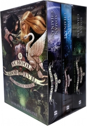 The School for Good and Evil Series Collection 3 Books Box Set by Soman Chainani Photo