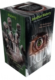 The Rot & Ruin Collection Jonathan Maberry 4 Books Box Set (Rot & Ruin; Dust & Decay; Flesh & Bone; Fire & Ash) by Jonathan Maberry