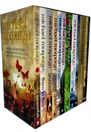 Michael Morpurgo Collection 12 Books Box Set (Farm boy, Born to Run, Shadow, An Elephant in the Garden, The Amazing Story of Adolphus Tips and More) Photo