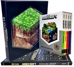 Minecraft Collection 6 Books Set Pack Photo