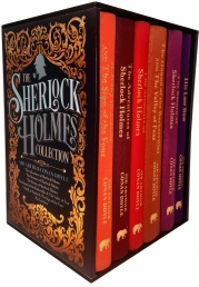 Sherlock Holmes Deluxe Hardback Collection Arthur Conan Doyle 6 Books Box Set Photo