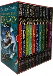 How to Train Your Dragon 10 Books Collection Box Set By Cressida Cowell
