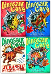 Dinosaur Cove Cretaceous Collection Rex Stone 4 Books Set Photo
