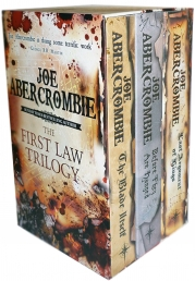The First Law Trilogy 3 Books Collection Set By Joe Abercrombie The Blade Itself, Before They Are Hanged, Last Argument of Kings Photo