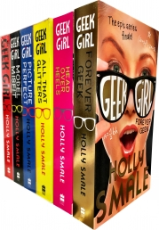 Holly Smale Collection Geek Girl Series 6 Books Set Pack Photo