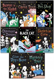 Funny Bones 8 Books Collection Set by Allan Ahlberg Photo