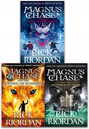 Magnus Chase and the Gods of Asgard Series Collection 3 Books Set By Rick Riordan (Book 1-3) Photo