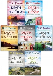 Hamish Macbeth Murder Mystery Series 1 M.C. Beaton Collection 7 Books Set by M C Beaton