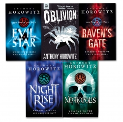The Power of Five 5 Books Set Anthony Horowitz Collection Oblivion Necropolis by Anthony Horowitz