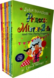 Princess Mirror-Belle Collection 6 Books Set By Julia Donaldson & Lydia Monks Photo