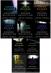 The Bourne Series Collection Robert Ludlum 10 Books Set Photo