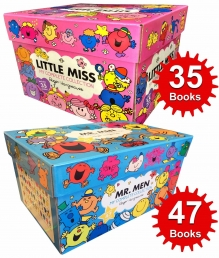 Mr Men & Little Miss 82 Books The Complete Collection Gift Set Photo