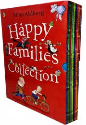 Happy Families Collection Allan Ahlberg 10 Books Box Set Photo