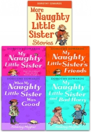 My Naughty Little Sister Collection 5 Books Set by Dorothy Edwards