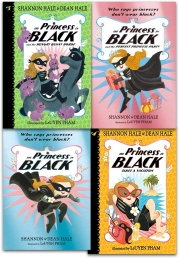 The Princess in Black Collection 4 Books Set by Shannon Hale, Dean Hale