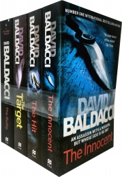 David Baldacci Will Robie Series 4 Books Collection Set Photo