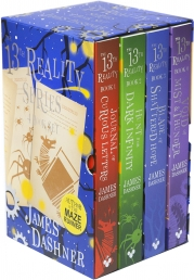 The 13th Reality Series 4 Books Collection Box Set By James Dashner Photo