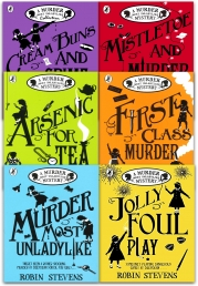 Robin Stevens A Murder Most Unladylike Mystery Collection 6 Books Set (Cream Buns and Crime, Murder Most Unladylike, First Class Murder) Photo