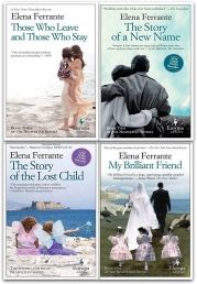 My Brilliant Friend Series Elena Ferrante 4 Books Collection Set (My Brilliant Friend, The Story of a New Name, Those Who Leave and Those Who Stay) Photo