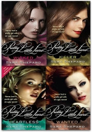 Wicked Pretty Little Liars Series 2 Collection Sara Shepard 4 Books Set NEW Wicked Killer Heartless Wanted Photo