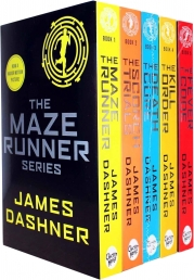 Maze Runner Series James Dashner 5 Books Set Pack Photo