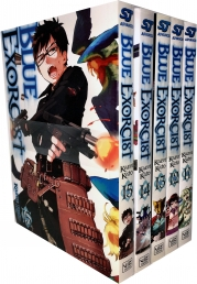 Blue Exorcist Volume 11-15 Collection 5 Books Set Photo