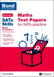 Bond SATs Skills Maths Test Papers for SATs practice Key Stage 2 Photo