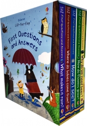Usborne Lift-the-flap First Questions and Answers 5 Books Collection Box Set (Series 2) Photo