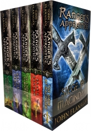John Flanagan Rangers Apprentice Series 2 Collection 5 Books Set (Book 6-10) Photo