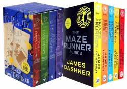 James Dashner 9 Books Collection Set Maze Runner, 13th Reality Photo
