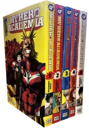 My Hero Academia Volume 1-5 Collection 5 Books Set (Series 1) Photo