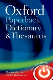 Oxford Dictionary and Thesaurus Photo