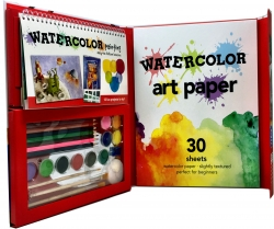 Watercolor for Young Artists Children Activity Pack Photo