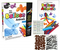 Fun with Balloon Animals Children Activity Gift Pack by