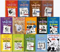Diary of a Wimpy Kid Collection 14 Books Set Photo