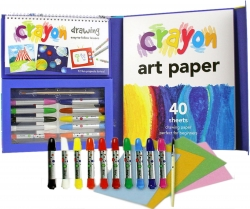 Crayon Art for Young Artists Children Activity Pack Photo