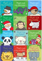 That's Not My Toddlers 12 Books Collection Set Pack Fiona Watt (Touchy-Feely Board Books) Photo