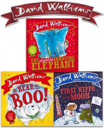 David Walliams Children Board Book Collection 3 Books Set Photo